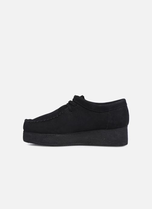 Zapatos con cordones Clarks Originals Wallacraft Lo Negro vista de frente