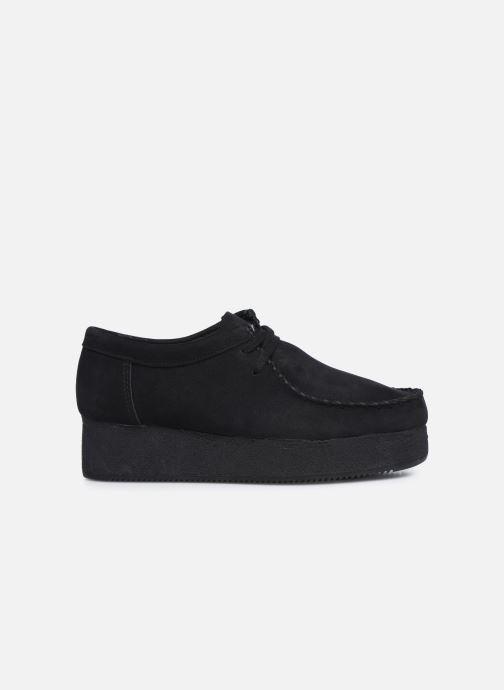 Zapatos con cordones Clarks Originals Wallacraft Lo Negro vistra trasera