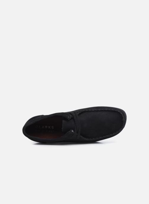 Zapatos con cordones Clarks Originals Wallacraft Lo Negro vista lateral izquierda