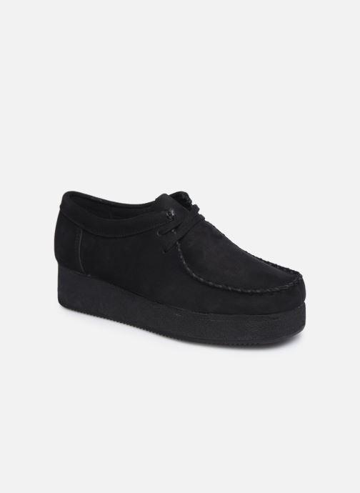 Zapatos con cordones Clarks Originals Wallacraft Lo Negro vista de detalle / par