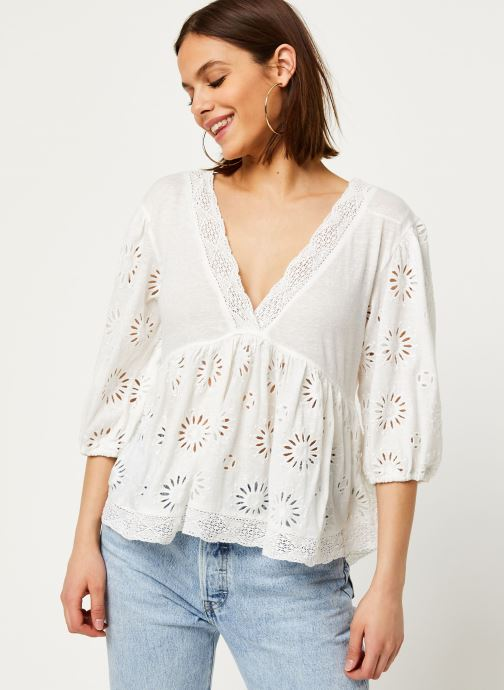Vêtements Free People SWEETER SIDE Blanc vue droite