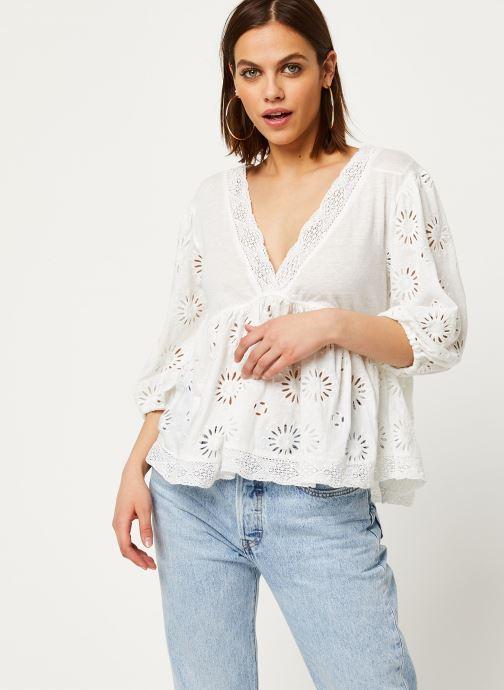 Vêtements Free People SWEETER SIDE Blanc vue détail/paire