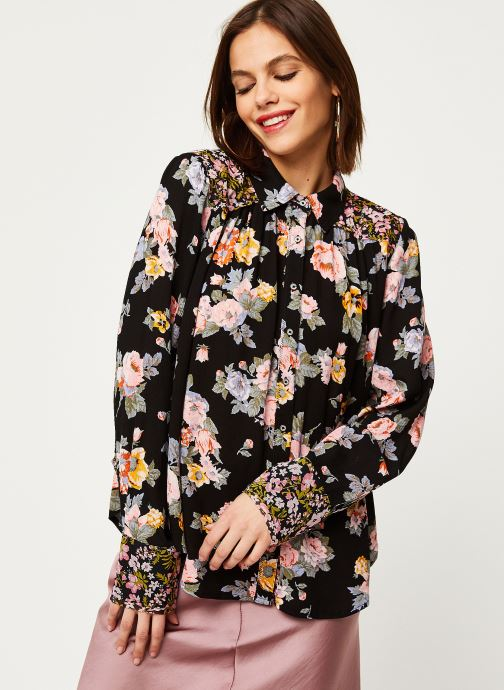 Vêtements Free People HOLD ON TO ME PRINTED Noir vue droite