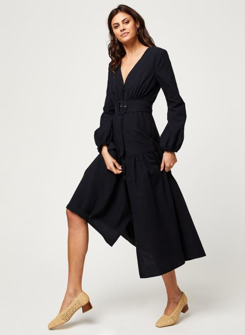 Vêtements Free People KENDRA DRESS Noir vue bas / vue portée sac