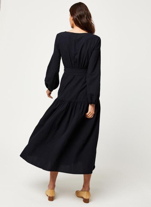 Vêtements Free People KENDRA DRESS Noir vue portées chaussures