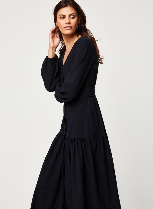 Vêtements Free People KENDRA DRESS Noir vue droite