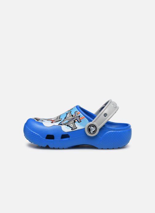 Sandali e scarpe aperte Crocs CrocsFL Fighter Jets Clog B BCb Azzurro immagine frontale