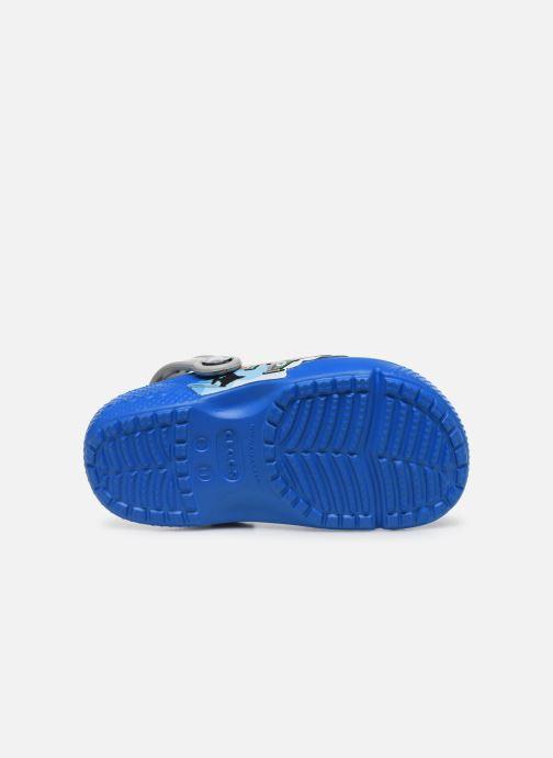 Sandali e scarpe aperte Crocs CrocsFL Fighter Jets Clog B BCb Azzurro immagine dall'alto