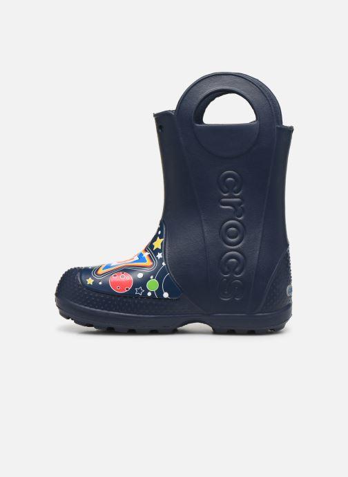 Botas Crocs CrocsFL Galactic Rain Boot B Azul vista de frente