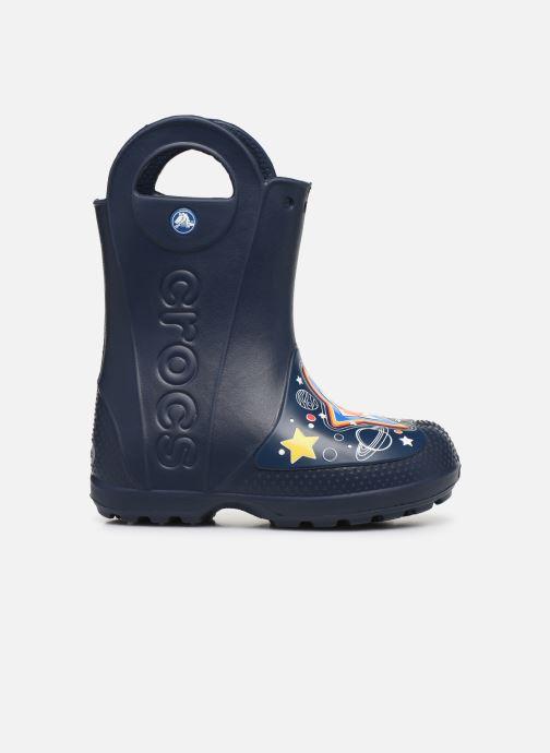 Botas Crocs CrocsFL Galactic Rain Boot B Azul vistra trasera