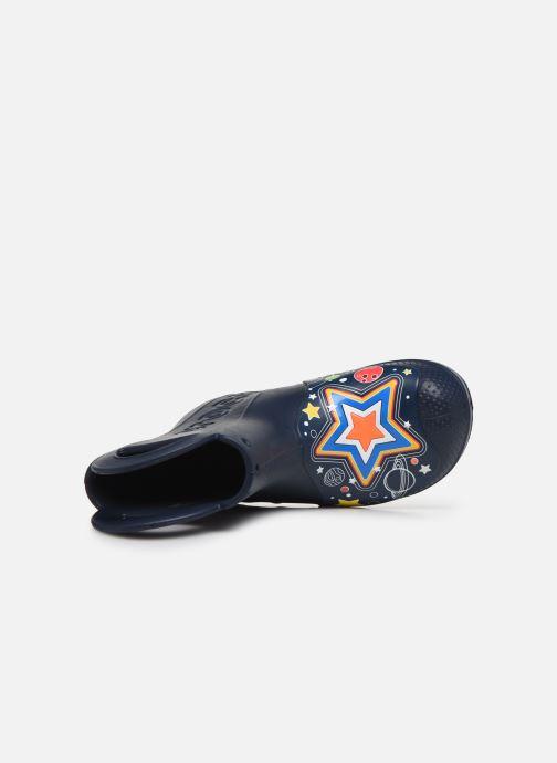 Stivali Crocs CrocsFL Galactic Rain Boot B Azzurro immagine sinistra