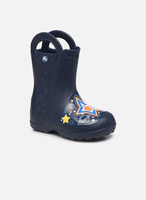 Botas Crocs CrocsFL Galactic Rain Boot B Azul vista de detalle / par