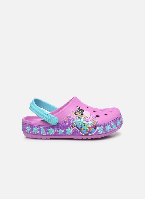 Sandales et nu-pieds Crocs CrocsFL Jasmine Band Clog K Violet vue derrière