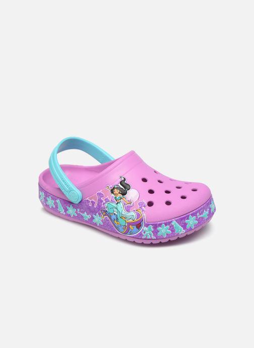 Sandales et nu-pieds Crocs CrocsFL Jasmine Band Clog K Violet vue détail/paire