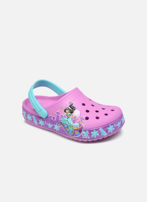 Sandalias Crocs CrocsFL Jasmine Band Clog K Violeta      vista de detalle / par