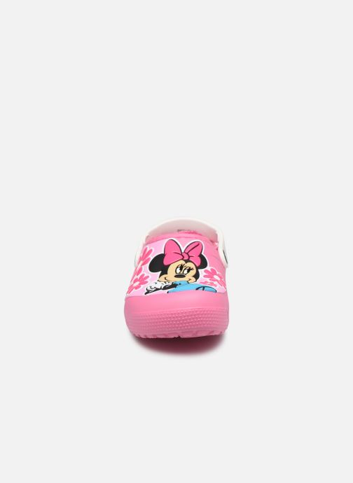 Sandalias Crocs CrocsFL Minnie Mouse Lnd Clg K Rosa vista del modelo