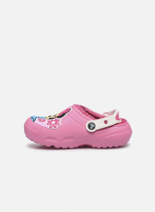 Sandaler Crocs CrocsFL Minnie Mouse Lnd Clg K Pink se forfra