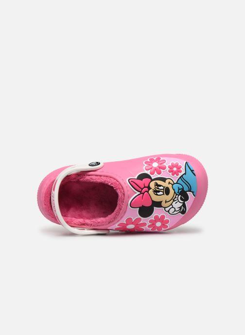 Sandalias Crocs CrocsFL Minnie Mouse Lnd Clg K Rosa vista lateral izquierda