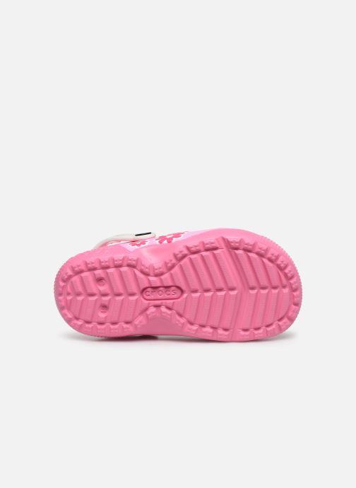 Sandalias Crocs CrocsFL Minnie Mouse Lnd Clg K Rosa vista de arriba