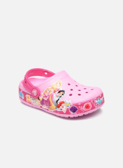 Sandales et nu-pieds Crocs CrocsFL Princess Band Lt Clg K Rose vue détail/paire