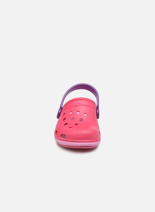 Sandales et nu-pieds Crocs Electro III Clog K Rose vue portées chaussures