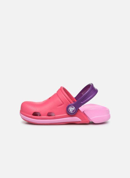 Sandales et nu-pieds Crocs Electro III Clog K Rose vue face