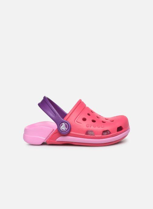 Sandales et nu-pieds Crocs Electro III Clog K Rose vue derrière