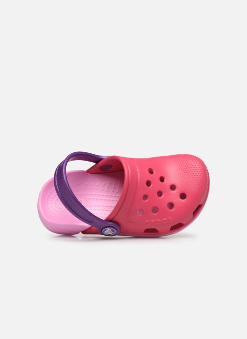 Sandals Crocs Electro III Clog K Pink view from the left