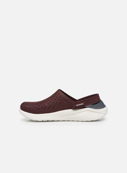 Mules & clogs Crocs LiteRide Clog Burgundy front view