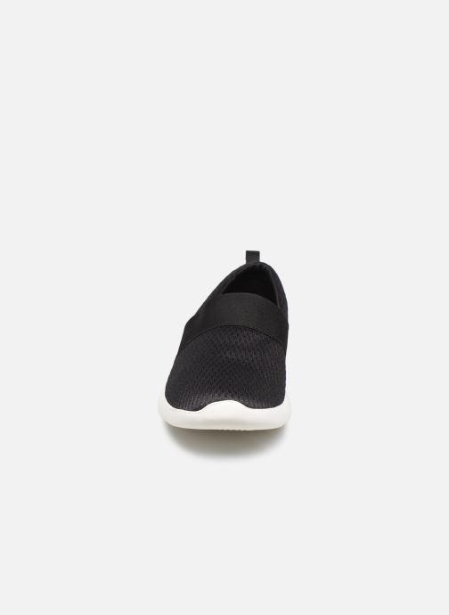 Baskets Crocs LteRideMSlpW Noir vue portées chaussures