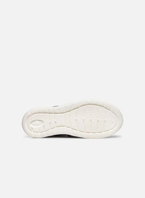 Baskets Crocs LteRideMSlpW Noir vue haut