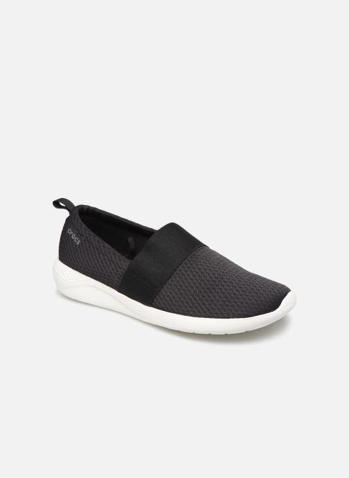 Baskets Crocs LteRideMSlpW Noir vue détail/paire