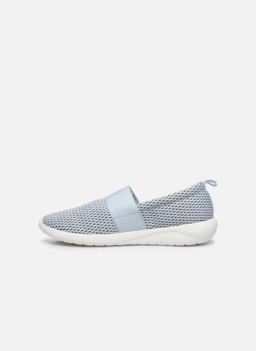 Sneakers Crocs LteRideMSlpW Azzurro immagine frontale
