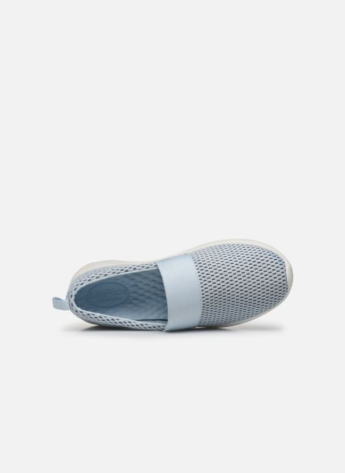 Sneakers Crocs LteRideMSlpW Azzurro immagine sinistra