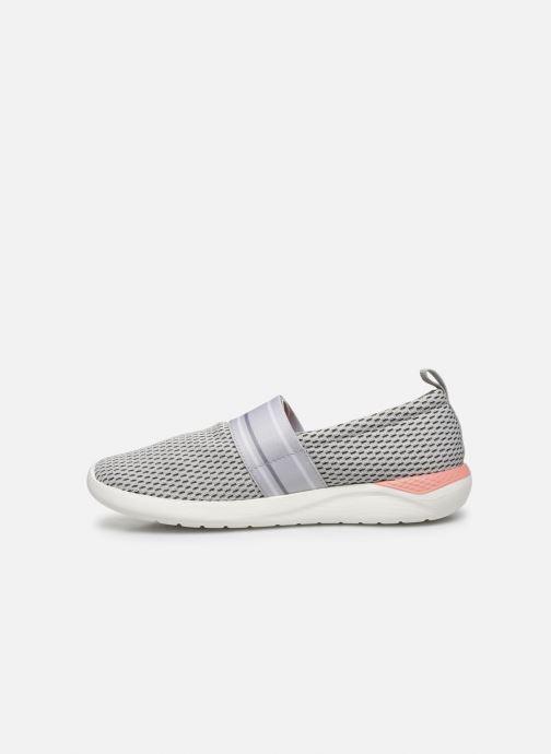 Sneakers Crocs LteRideMSlpW Grigio immagine frontale