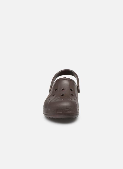 Mules et sabots Crocs Ralen Lined Clog W Marron vue portées chaussures