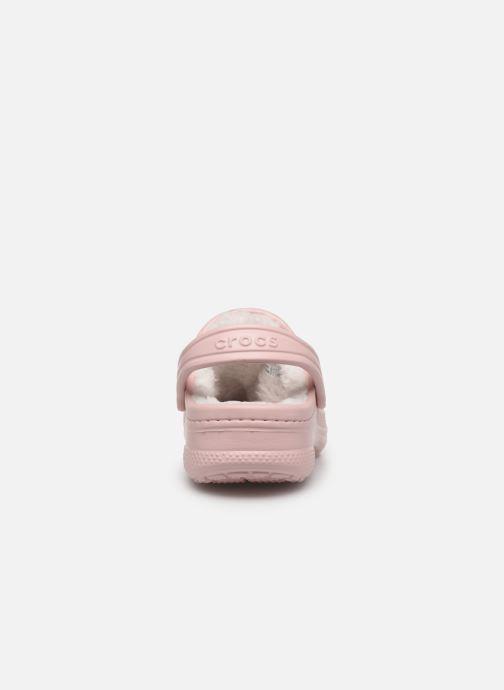 Sandaler Crocs Ralen Lined Clog K Pink Se fra højre
