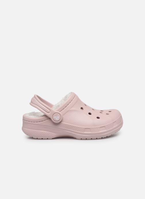 Sandalen Crocs Ralen Lined Clog K rosa ansicht von hinten