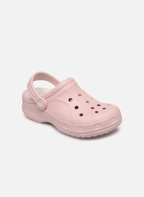 Sandalen Crocs Ralen Lined Clog K rosa detaillierte ansicht/modell