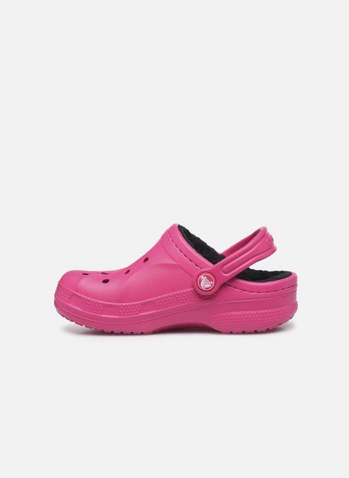 Sandalen Crocs Ralen Lined Clog K rosa ansicht von vorne