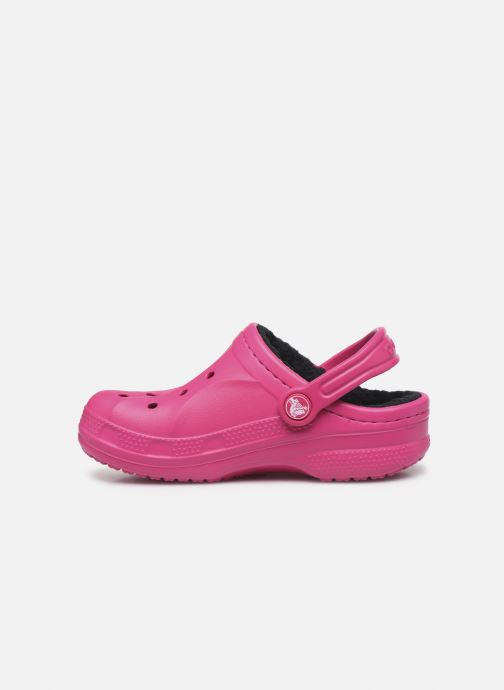 Sandales et nu-pieds Crocs Ralen Lined Clog K Rose vue face