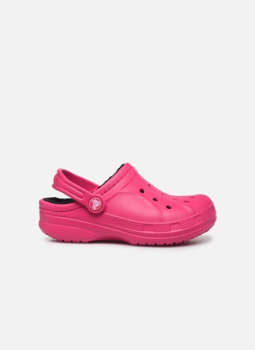 Sandales et nu-pieds Crocs Ralen Lined Clog K Rose vue derrière