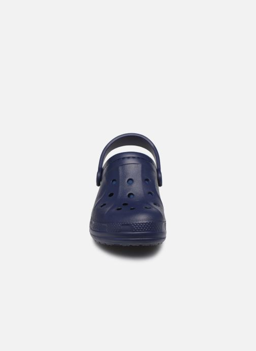 Sandalias Crocs Ralen Lined Clog K Azul vista del modelo