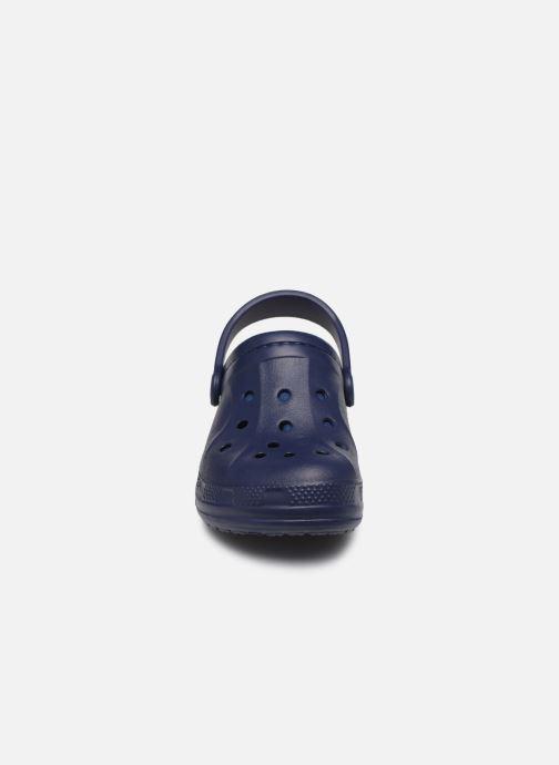 Sandali e scarpe aperte Crocs Ralen Lined Clog K Azzurro modello indossato