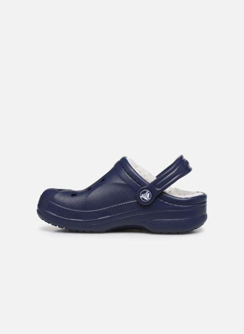Sandaler Crocs Ralen Lined Clog K Blå se forfra