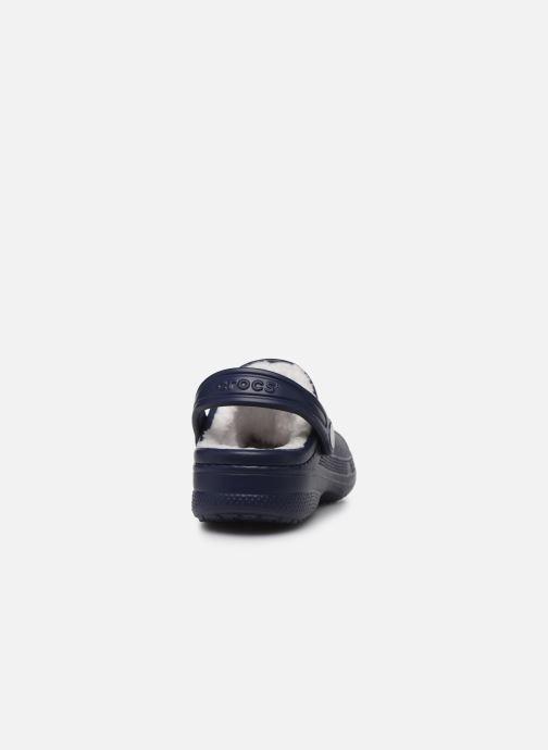 Sandali e scarpe aperte Crocs Ralen Lined Clog K Azzurro immagine destra