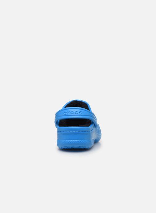 Sandales et nu-pieds Crocs Ralen Lined Clog K Bleu vue droite