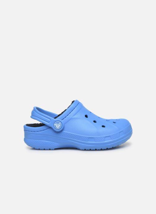 Sandalias Crocs Ralen Lined Clog K Azul vistra trasera