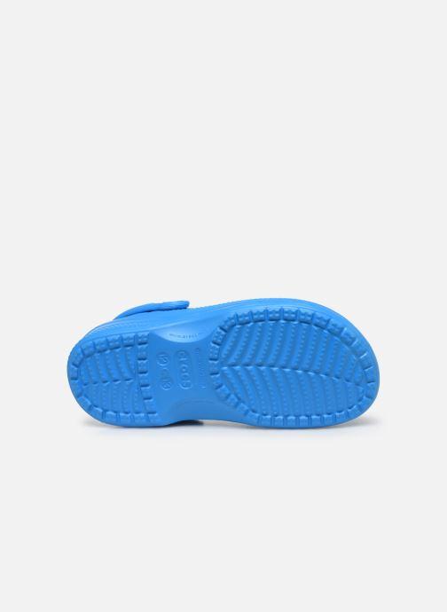 Sandalias Crocs Ralen Lined Clog K Azul vista de arriba