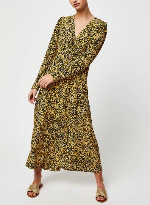 Vêtements Selected Femme Slfjuana LS Ankle Dress Noir vue bas / vue portée sac